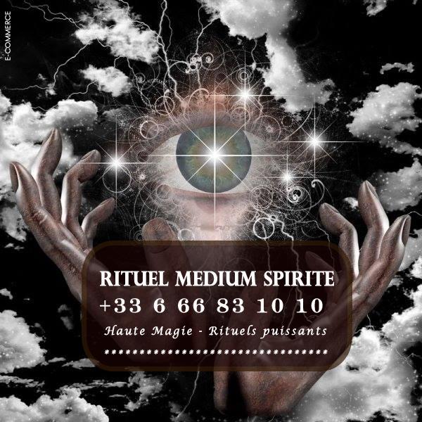 Rituel médium spirite